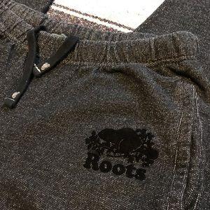 Roots Sweatpants Medium Heather Grey